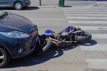 Las Vegas motorcycle accident causes serious injuries- D R  PATTI
