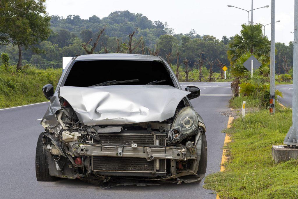 Car in hit and run crash